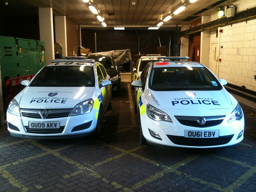 Thames Valley Police Astra's | by Secret Squirell1