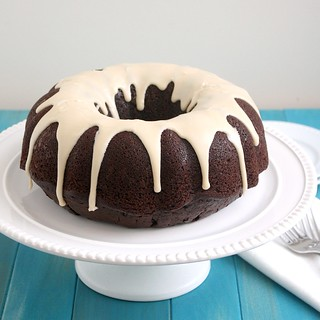 Sourdough Chocolate Bundt Cake | by Tracey's Culinary Adventures