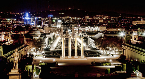 Barcelona's lights | by Jesus Solana Poegraphy
