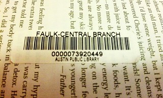 Why would a library put a sticker in the middle of the page? | by fetosoap