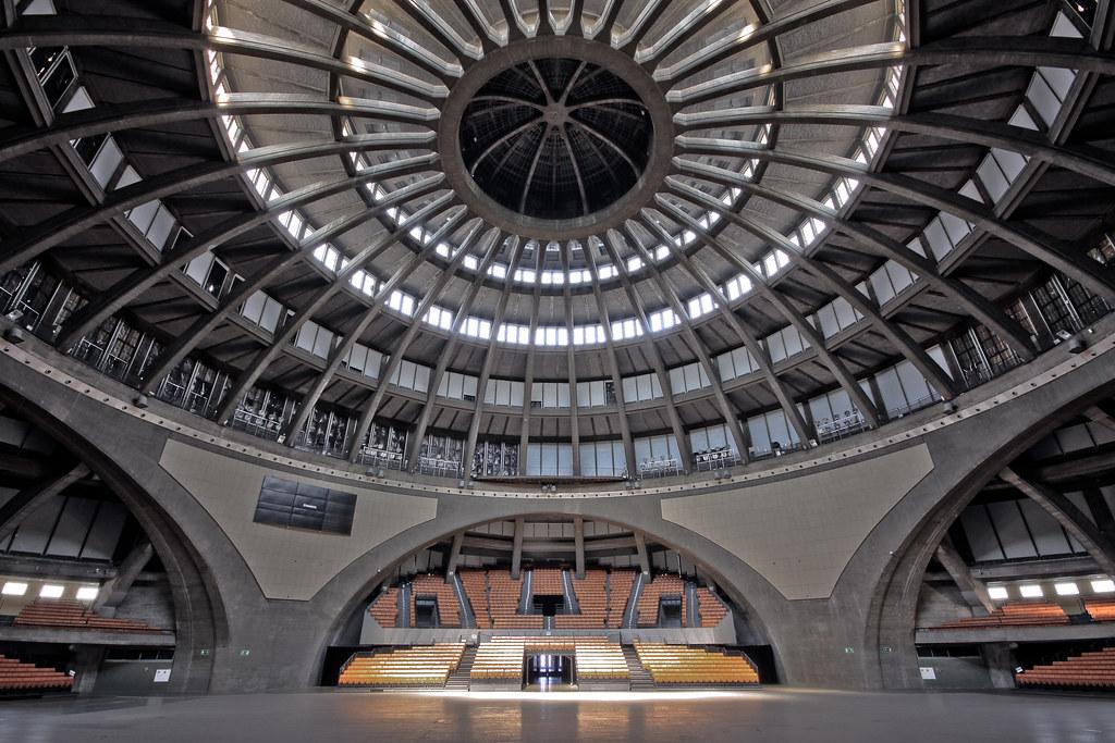 Halle du centenaire à Wroclaw - Photo de Mariusz Cieszewski.
