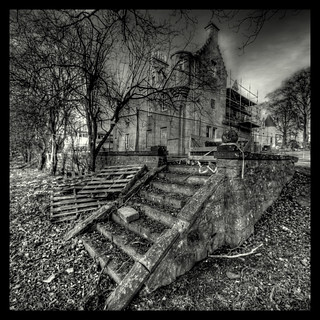 Tertowie House. Aberdeenshire. Monochrome | by PeskyMesky