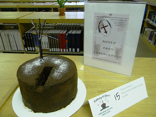 Notes from Underground Chocolate Cake | by UWGB Cofrin Library