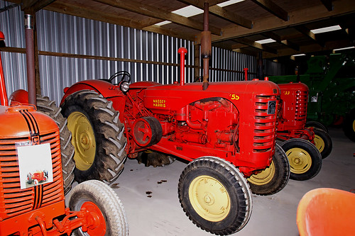 1952 Massey Harris 55 Tractor. | by Hugh McCall