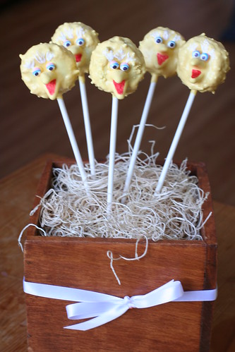 Big Bird Cake Pops | by Sweet Lauren Cakes