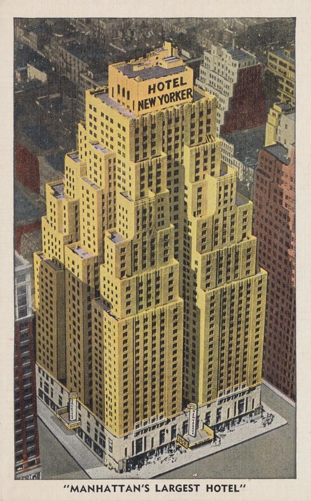 Hotel New Yorker - New York, New York