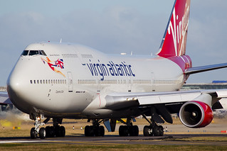 G-VWOW Virgin Atlantic Boeing 747-400 | by Darryl Morrell - AirTeamImages