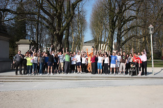 Staff finishing the Brussels Sport Relief Mile 2012 | by UK Representation to the EU
