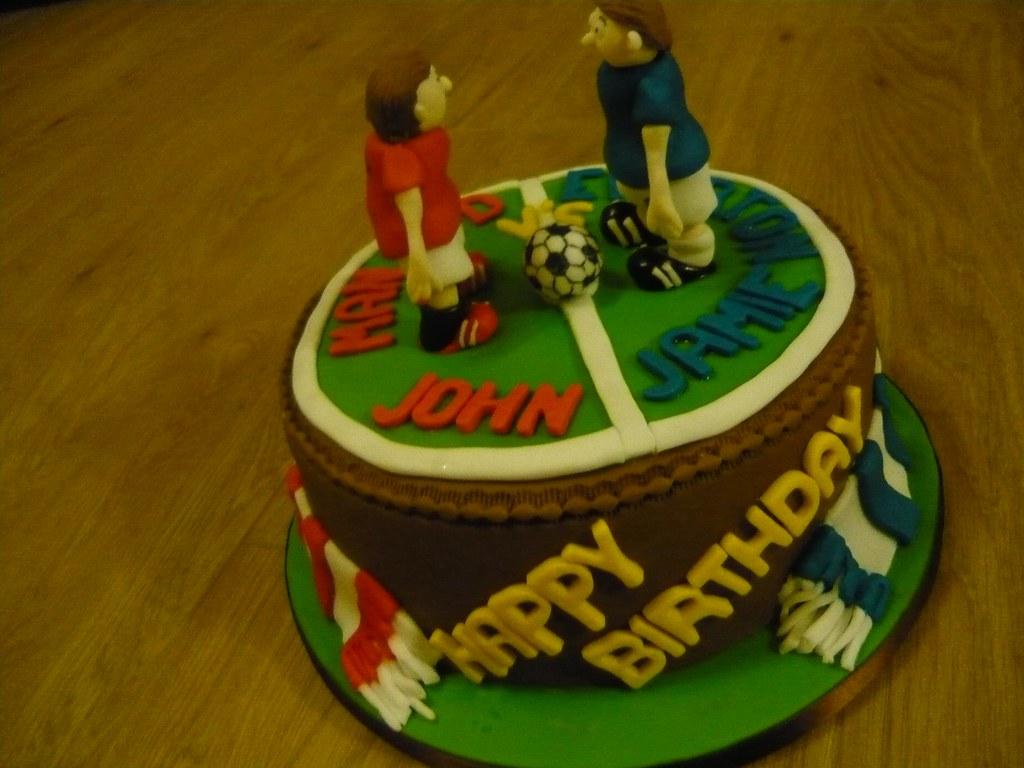 55 Two Boys Football Birthday Cake 29 February 2012 1 1 Flickr