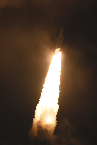 Liftoff of Ariane 5 VA205 with ATV-3 | by europeanspaceagency