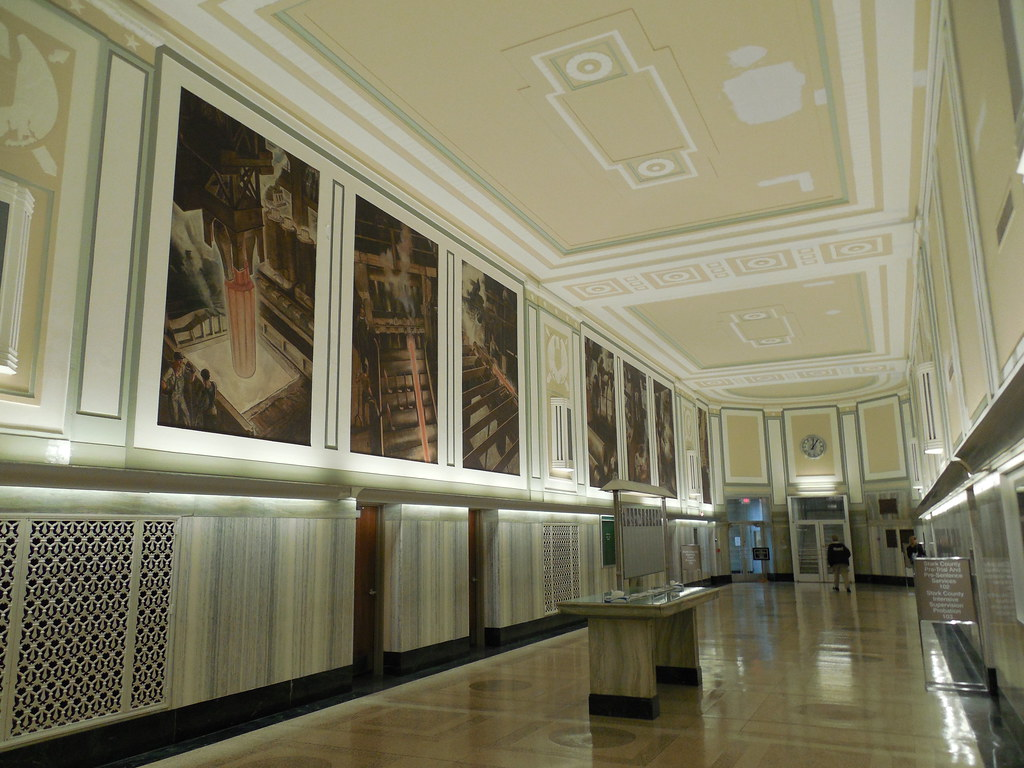 Wonderful ... Canton Ohio Post Office Murals | By Jimmywayne