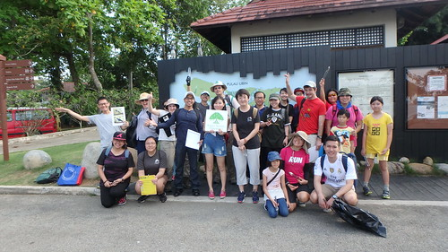 Forest Clean Up with Jalan Hijau Group, Nature Society (Singapore) for Pesta Ubin 2016