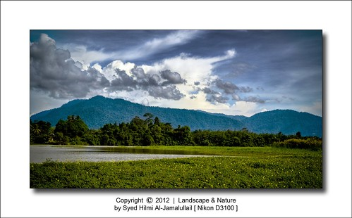 Landscape and Natural : Mountain | Sky | HDR Using Nikon D3100 | by Syed Hilmi Al-Jamalullail (photographer)