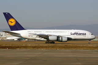"Lufthansa Airbus A380-841 D-AIMH ""New York"" FRA 11-02-12 