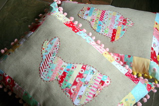 ticker tape spring pillows | by sewdeerlyloved