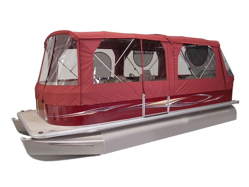 ... thebestboatbrands Sunchaser Pontoon Optional Full C&er Enclosure | by thebestboatbrands  sc 1 st  Flickr & Sunchaser Pontoon Optional Full Camper Enclosure | The Best Boat ...
