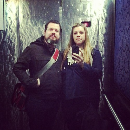 Fancy elevator at the hotel | by KatieJ.