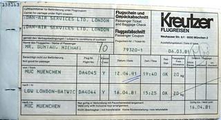 airline tickets im spiegel der zeit dan air founded 1953 flickr. Black Bedroom Furniture Sets. Home Design Ideas