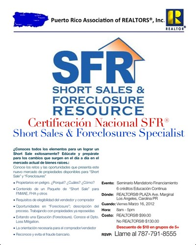 Flyer Short Sales Puerto Rico Association Of Realtors