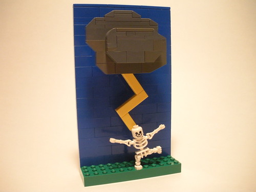Vignette a day: Lightning | by lego27bricks