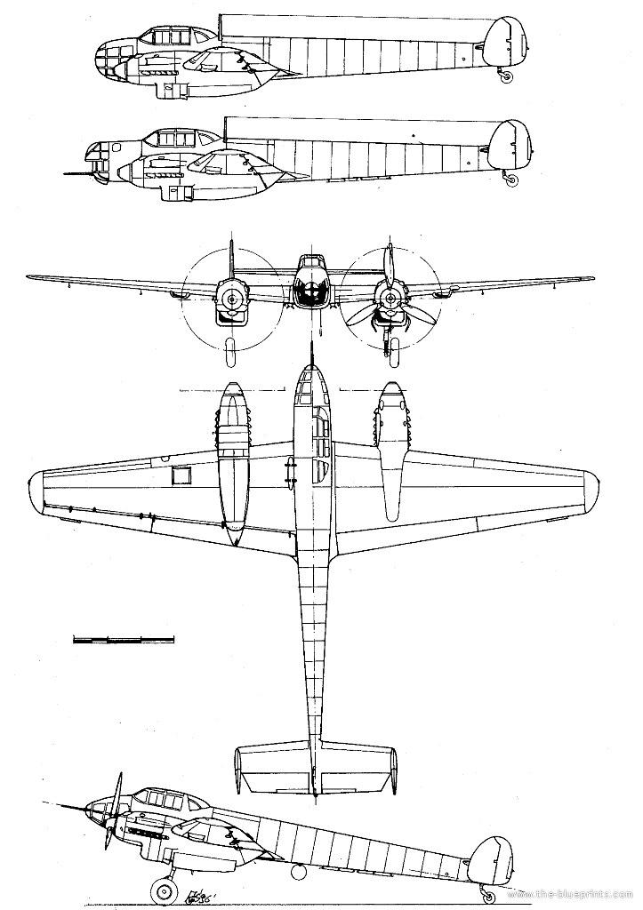 """MESSERSCHMITT BF-108 """"TAIFUN"""" - Plane & Pilot Magazine"""