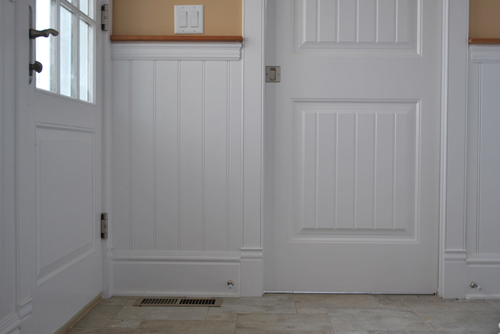 Beadboard Wainscoting Panel Bathroom Westerly Ri Rhode Isl Flickr