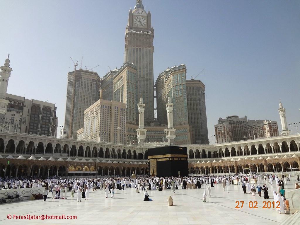 ... داخل الحرم المكي الشريف ( المسجد الحرام ) - مكة المكرمة | by Feras Qaddoora