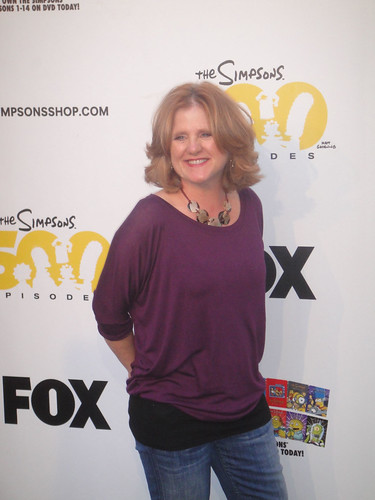 Simpsons 500th Episode Marathon - Nancy Cartwright (Bart Simpson) | by Doug Kline