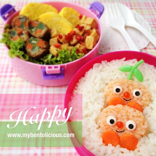 Happy Friends Bento | by Bentolicious