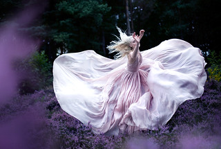 Wonderland  'While Nightingales wept' | by Kirsty Mitchell
