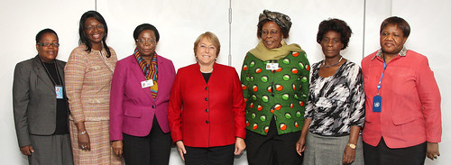 UN Women Executive Director Michelle Bachelet meets with Dr. Olivia N Muchena, Minister of Women Affairs, Gender and Community Development of the Republic of Zimbabwe | by UN Women Gallery