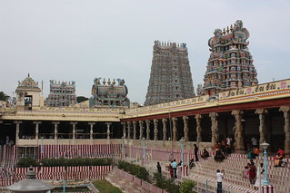 Madurai, Sri Meenakshi Temple, western and northern gopurams | by Arian Zwegers