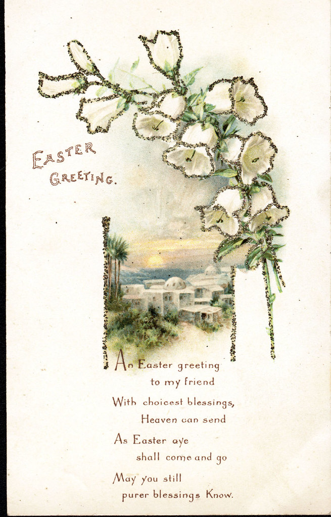 Easter greetings traditional easter card its that tim flickr easter greetings traditional easter card by beamish museum m4hsunfo