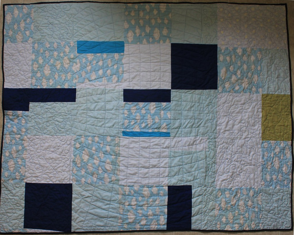 Quilt back World Map Quilt | DanaK~WaterPenny | Flickr
