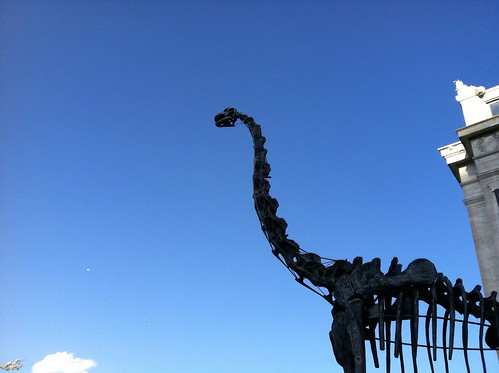 Dinosaur Statue outside the Field Museum | by Mrs. Gemstone
