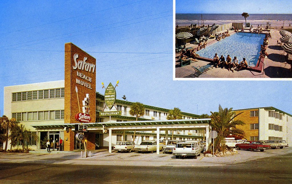 Safari Beach Motel - Daytona Beach, Florida