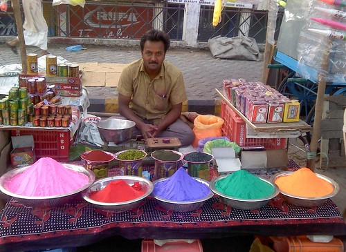 A color shop on this Holi morning. | by Ganesh Dhamodkar