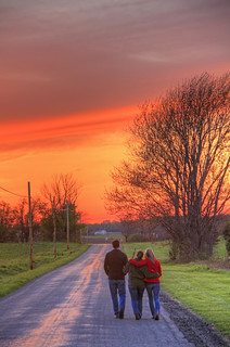 Walking Down a Country Road | by Matt Champlin