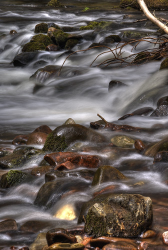 Water over stones 1 | by -- Roger Nichol