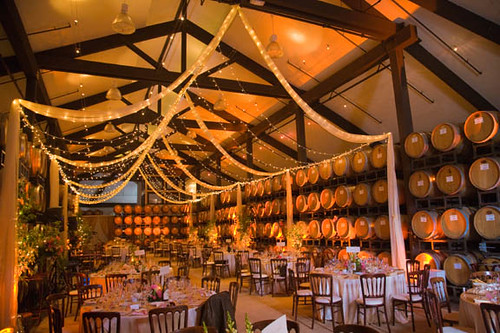 Wedding at the Chai | by Chateau Julien Winery
