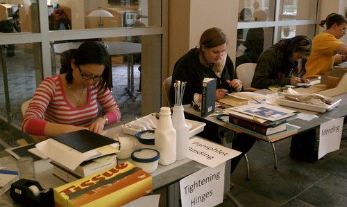 SIUC Morris Library Celebrates Preservation Week 2012 | by SIUC Preservation