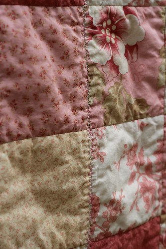 Pretty in Pink Baby Quilt | by CoraQuilts~Carla