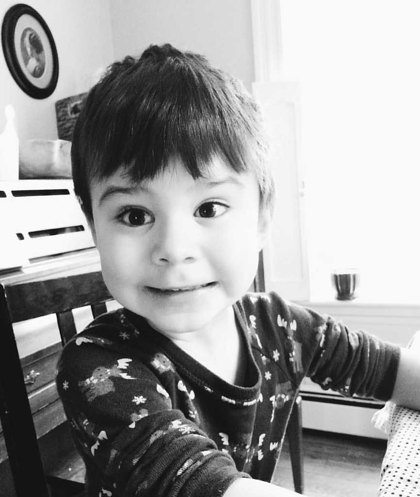 This is the face of a four-year-old. Happy birthday dear assist Luther! #happybirthday #instaluther #childhood #fouryearsold
