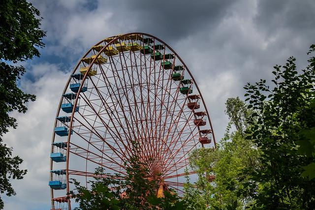 Abandonded amusement park