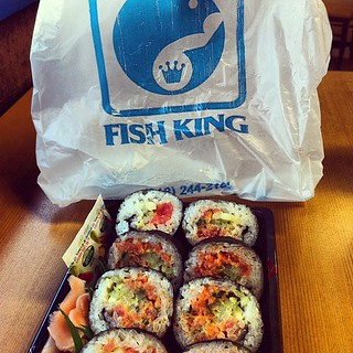My Other Glendale Fav Lunch Spicy Tuna Sushi From Fish K