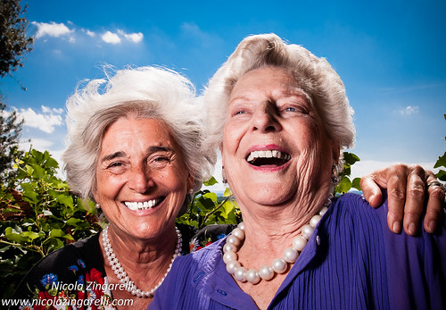 Two very special friends, I wish I'll be like this when I  will get to that age | by Nicola Zingarelli