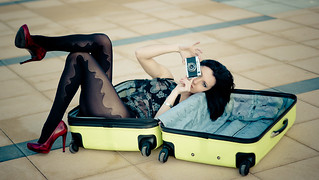 Luggage babe | by zar_kor