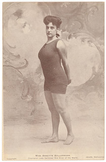 Pictorial post card, Miss Annette Kellermann, Champion Lady Swimmer and Diver of the World | by State Library of New South Wales collection