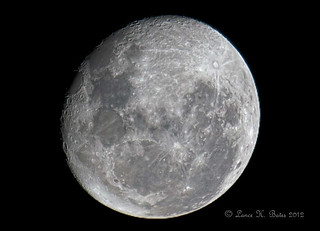 20120310 Waning Gibbous Moon | by Degilbo on flickr