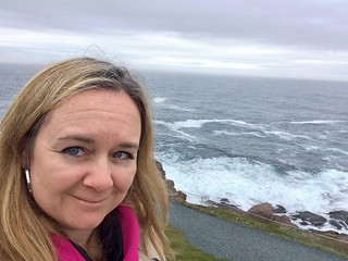 Me at the eastern most point in North America, at Cape Spear, NL